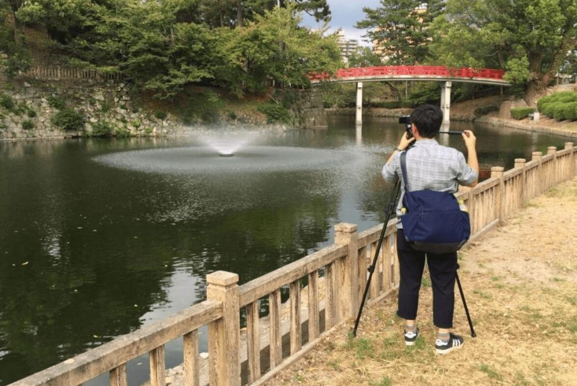 池 の 水 全部 抜く 岡崎 城